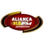 Logo da emissora Rádio Aliança 91.5 FM