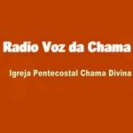 Logo da emissora Voz da Chama