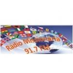 Logo da emissora Rádio Missionária 91.7 FM