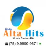 Logo da emissora Alta Hits