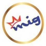 Logo da emissora Rádio MIG 98.1 FM