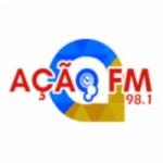 Logo da emissora Rádio Ação 98.1 FM