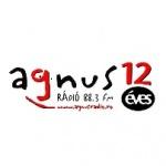 Logo da emissora Agnus Rádió 88.3 FM