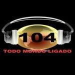 Logo da emissora Centoequatro FM