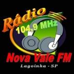 Logo da emissora Rádio Nova Vale 104.9 FM