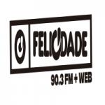Logo da emissora Rádio Felicidade 90.3 FM