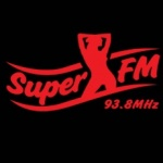 Logo da emissora Radio Super 93.8 FM