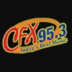 Logo da emissora WCFX 95.3 FM CFX