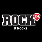 Logo da emissora Rock 100.6 FM
