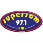Logo da emissora Rádio Supersom 97.1 FM