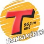 Logo da emissora Rádio Transamérica 96.1 FM