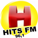 Logo da emissora Rádio Hits 96.1 FM