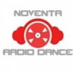 Logo da emissora Noventa Rádio Dance