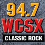 Logo da emissora WCSX 94.7 FM