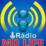 Logo da emissora Rádio MD Life