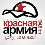 Logo da emissora Red Army 104.6 FM