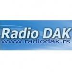 Logo da emissora Dak Radio 106.3 FM
