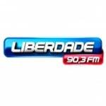 Logo da emissora Rádio Liberdade 90.3 FM