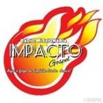 Logo da emissora Rádio Missionária Impacto Gospel
