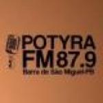 Logo da emissora Rádio Potyra 87.9 FM