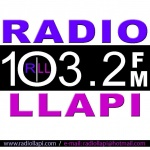 Logo da emissora Radio Llapi 103.2 FM