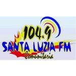 Logo da emissora Rádio Santa Luzia 104.9 FM