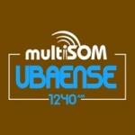 Logo da emissora Rádio Ubaense 1240 AM