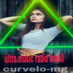 Logo da emissora Ultra Music Rádio Brasil
