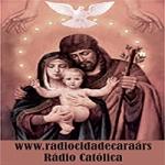 Logo da emissora Rádio Cidade Caraá