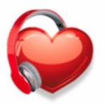 Logo da emissora Rede do Coração 88.9 FM