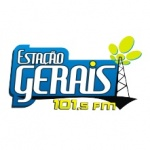 Logo da emissora Rádio Estação Gerais 105.1 FM
