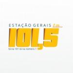 Logo da emissora Rádio Estação Gerais 101.5 FM