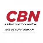 Logo da emissora Rádio CBN 1010 AM