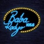 Logo da emissora Baba Radio 105.6 FM