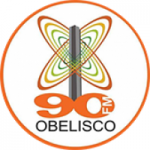 Logo da emissora Rádio Obelisco 90.9 FM