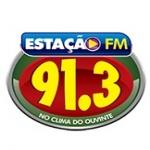 Logo da emissora Rádio Estação 91.3 FM