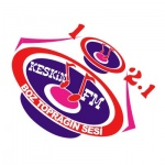 Logo da emissora Keskin 102.1 FM