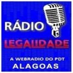 Logo da emissora Rádio Legalidade Alagoas