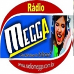 Logo da emissora Rádio Megga