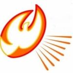 Logo da emissora Rádio Renascidos em Cristo