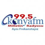 Logo da emissora Radio Konya 99.5 FM