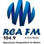 Logo da emissora Rádio RCA 104.9 FM