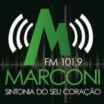 Logo da emissora Rádio Marconi 101.9 FM