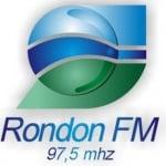 Logo da emissora Rádio Rondon 97.5 FM