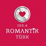 Logo da emissora Radio Romantik Türk 103.4 FM