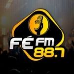 Logo da emissora Rádio Fé FM 88.7