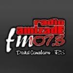 Logo da emissora Rádio Amizade 107.3 FM