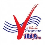 Logo da emissora Rádio Vale do Araguaia 104.9 FM