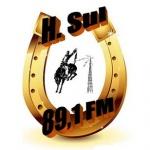 Logo da emissora Rádio H. Sul 89.1 FM