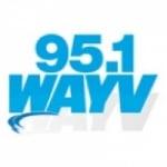 Logo da emissora WAYV 95.1 FM